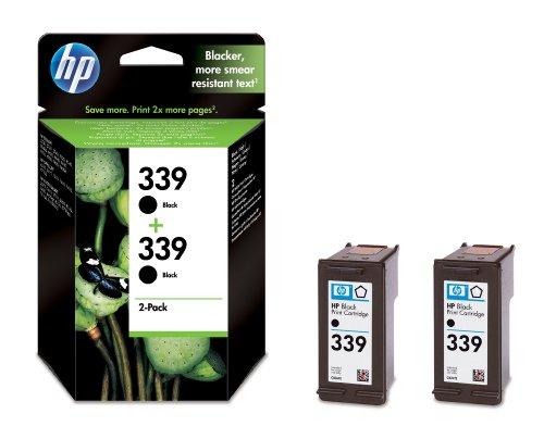 Hp C9504EE confezione multi nero 2x C8767EE (HP 339)