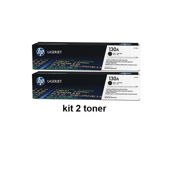 toner e cartucce - CF350A2PCK toner nero, confezione 2 pezzi.(2*CF350A)