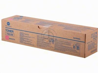konica Minolta tn-612m toner originale magenta, durata 25.000 pagine