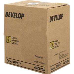 Develop TNP-51Y toner giallo, durata 5.000 pagine