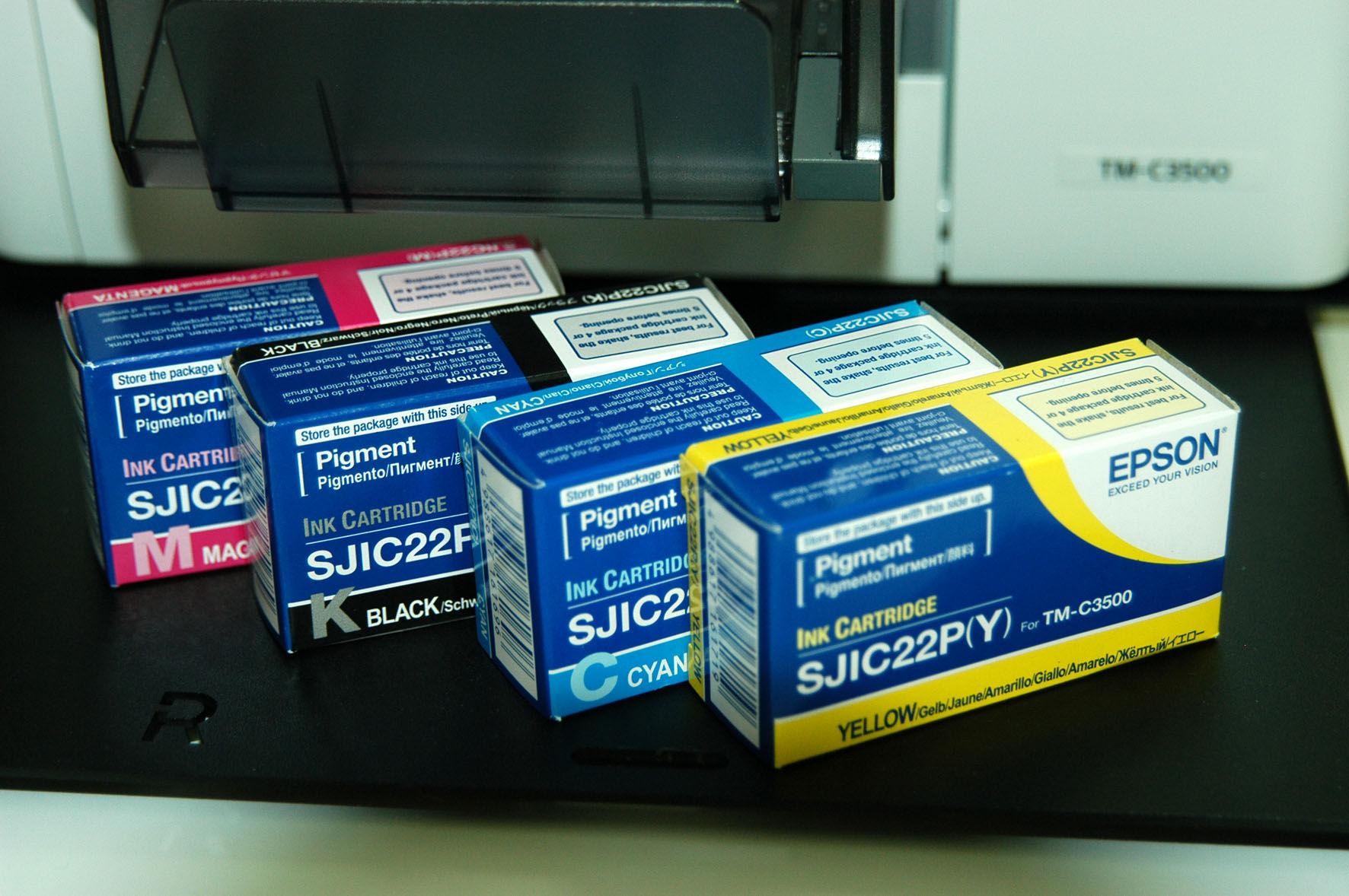 Epson C33S020604 Cartuccia d'inchiostro giallo 32.5ml