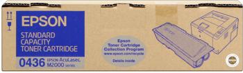 Epson s050436 toner nero standard, durata 3.500 pagine