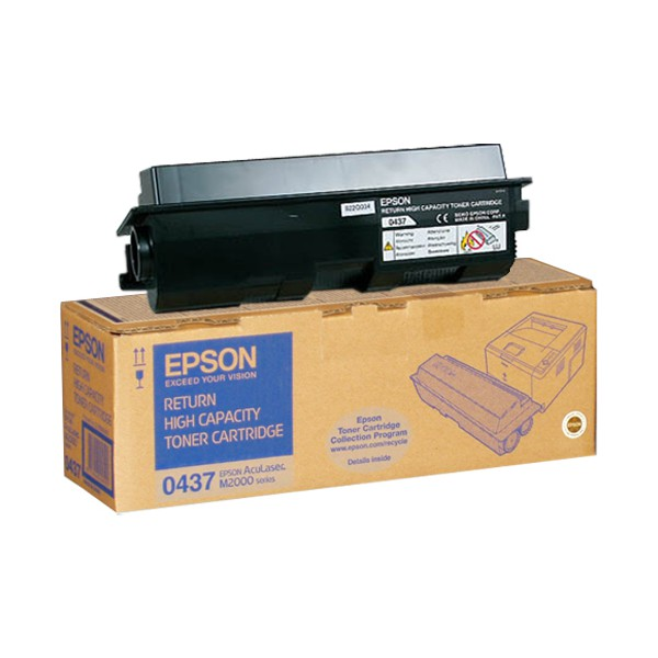 Epson S050437 toner nero alta capacit�, durata 8.000 pagine