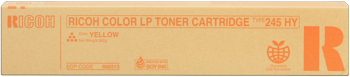 Lanier 888313 toner giallo Hight Cap, durata 15.000 pagine