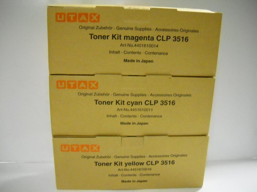Utax-Triumph Adler 4451610014 toner magenta, durata di stampa 8.0000 pagine
