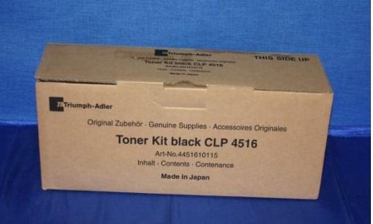 Utax-Triumph Adler 4451610115 toner nero, durata di stampa 8.0000 pagine