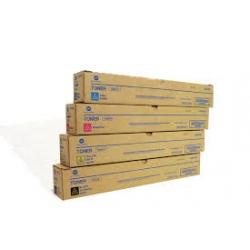 konica Minolta tn-312x Multipack 4 colori originali : cyano, magenta, giallo, nero