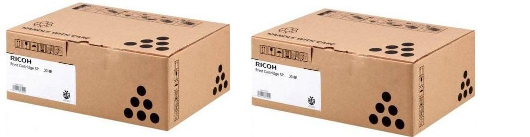 Ricoh sp4500hex2 toner nero, durata 12.000 pagine, confezione doppia 2 pezzi
