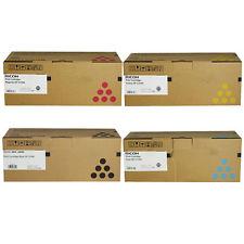 Ricoh 40754x Multipack 4 colori originali : cyano, magenta, giallo, nero