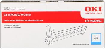 Oki 44064011 tamburo di stampa cyano, durata 20.000 pagine