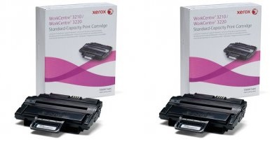 Xerox 106r0148x toner originale nero, durata 4.000 pagine, confezione doppia 2 pezzi