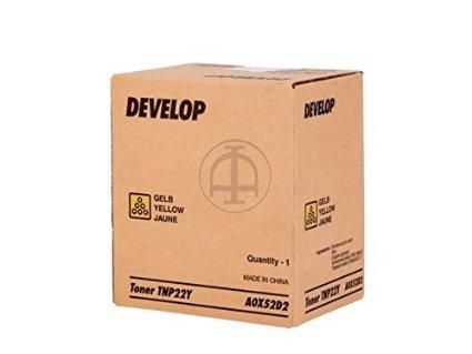 Develop A0X52D2 toner giallo
