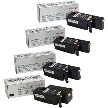 Xerox 106R0275 Multipack nero / ciano / magenta / giallo 4 Toner: 106R02756 +57 +58 +59