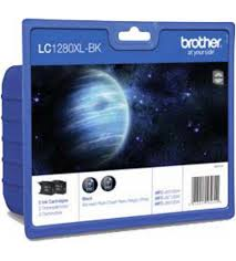 Brother LC-1280XLBKBP2DR Multipack nero 2 cartucce d'inchiostro LC-1280XLBK