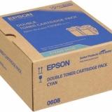 toner e cartucce - C13S050608 toner cyano, durata 7.500 pagine, confezione doppia 2 pezzi