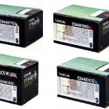 toner e cartucce - c544x1x multipack 4 colori: cyano, magenta, giallo, nero. Alta capacit� 4.000 pagine