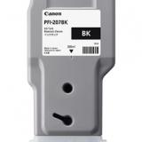 toner e cartucce - pfi-207bk cartuccia nero, capacità 300ml