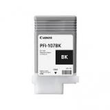 toner e cartucce - pfi-107bk cartuccia nero, capacità 130ml