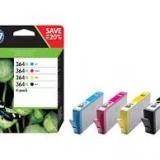 toner e cartucce - N9J74AE Multipack nero / ciano / magenta / giallo 4x inchiostro HP 364XL: bk+c+m+c+yN9J74AE