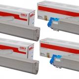 toner e cartucce - 45536506 toner magenta alta capacità, durata 38.000 pagine