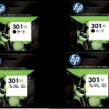 toner e cartucce - 301-XL-4PCK  Pack colore 2x CH563EE + 2x CH564EE. Nero + colore