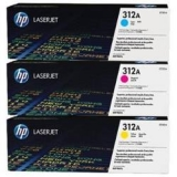 toner e cartucce - cf440am Multipack 3 colori : cyano, magenta, giallo CF381A + CF382A + CF383A