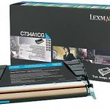 toner e cartucce - c734a1cg toner cyano, durata 6.000 pagine