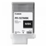 toner e cartucce - pfi-107mbk cartuccia nero opaco, capacità 130ml