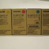 toner e cartucce - D-281C-Y Developer Originale Giallo