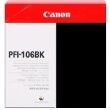 toner e cartucce - PFI-106BK Cartuccia nero capacità 130ml