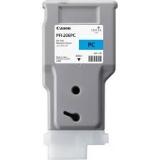toner e cartucce - PFI-206pc Cartuccia photo-cyano capacità 300ml
