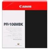 toner e cartucce - PFI-106MBK Cartuccia nero-opaco capacità 130ml