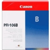 toner e cartucce - pfi-106b cartuccia blu, capacità 130ml