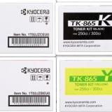 toner e cartucce - tk-865X multipack 4 colori: cyano, magenta, giallo, nero