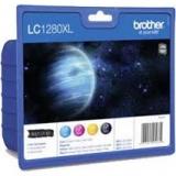 toner e cartucce - LC-1280XLVALBPDR Multipack nero / ciano / magenta / giallo 4 cartucce d'inchiostro LC-1280XL