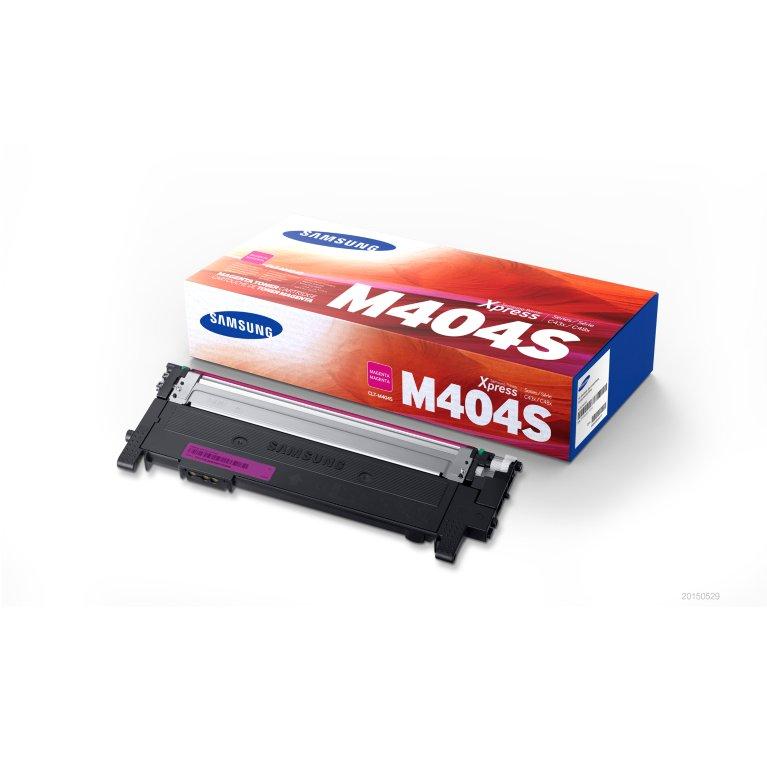 Samsung CLT-M404S toner magenta, durata indicata 1.000 pagine