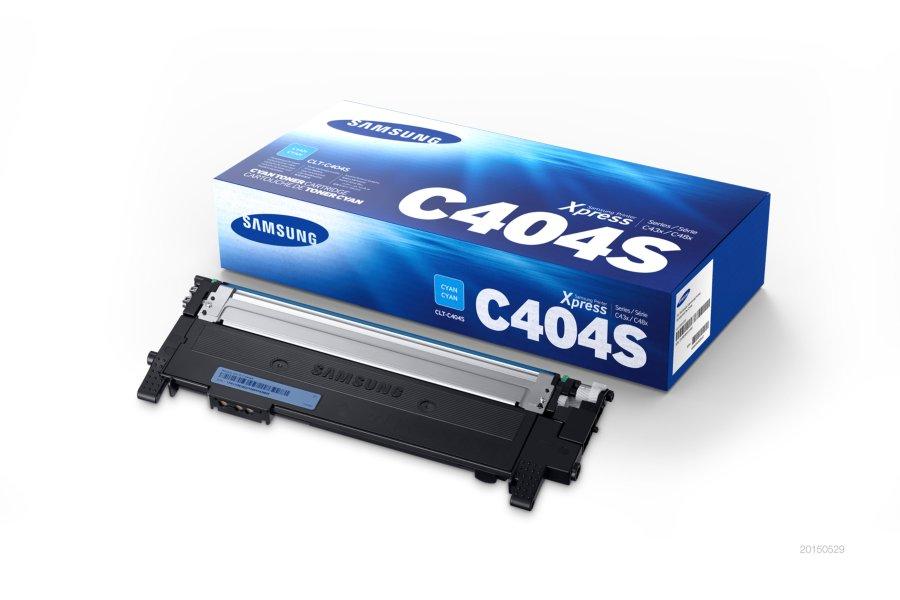 Samsung clt-c404s toner cyano, durata indicata 1.000 pagine