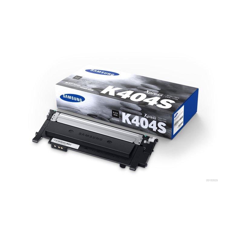 Samsung CLT-K404S toner nero, durata indicata 1.500 pagine