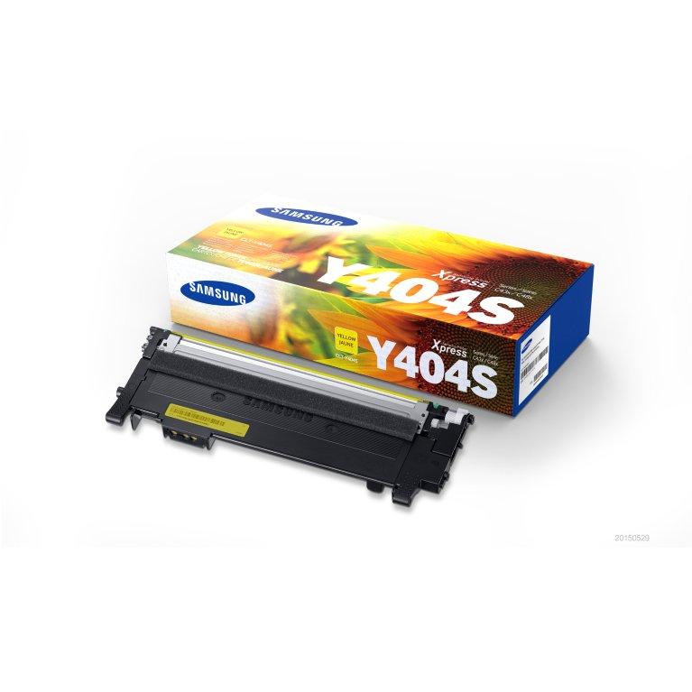 Samsung CLT-Y404S toner giallo, durata indicata 1.000 pagine