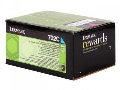 toner e cartucce - 70C20C0 toner cyano, durata indicata 1.000 pagine