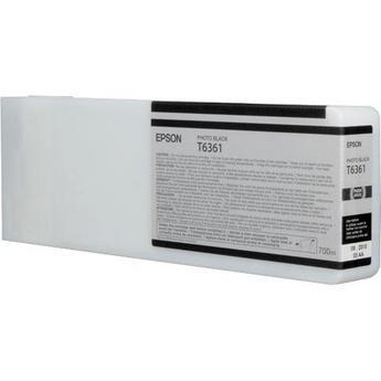 Epson T636100 Cartuccia nero-photo, capacit� (700ml), Ultra Chrome HDR