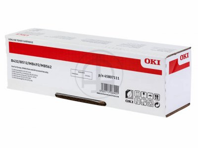 toner e cartucce - 45807111 toner nero, durata indicata 12.000 pagine
