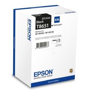 Epson C13T865140 cartuccia di inchiostro black, durata indicata 10.000 pagine