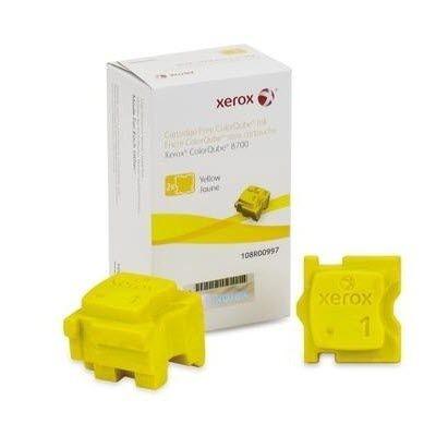 Xerox 108R00997 ColorStix giallo, durata 4.200 pagine. confezione 2 pezzi