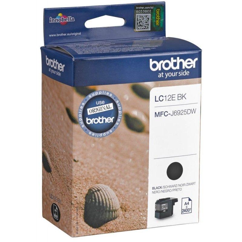 Brother lc-12ebk Cartuccia d'inchiostro nero 2.400 pagine