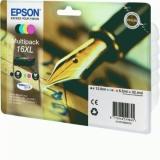 toner e cartucce - C13T16364010 Multipack nero / ciano / magenta / giallo 4 cartucce d'inchistro XL: T1631 + T1632 + T1633 + T1634