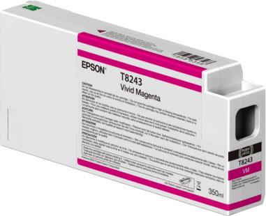 Epson C13T824300 Cartuccia d'inchiostro Magenta (vivido) 350ml Ultrachrome HD, UltraChrome HDX