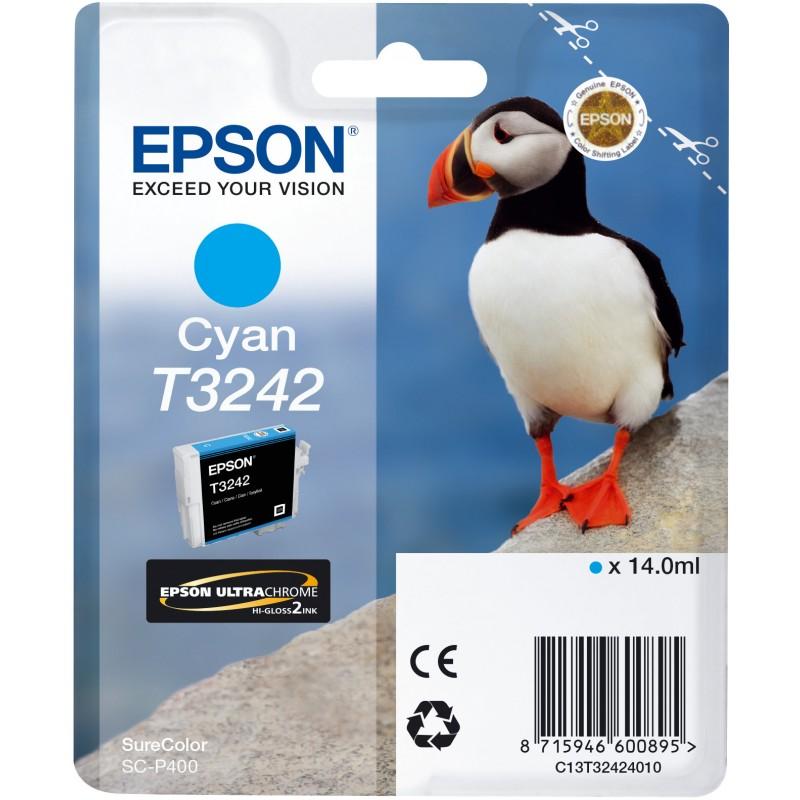 Epson C13T32424010 Cartuccia d'inchiostro ciano ~980 pagine