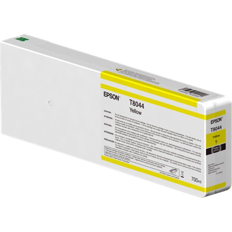 Epson C13T804400 Cartuccia d'inchiostro giallo 700ml Ultrachrome HD, UltraChrome HDX