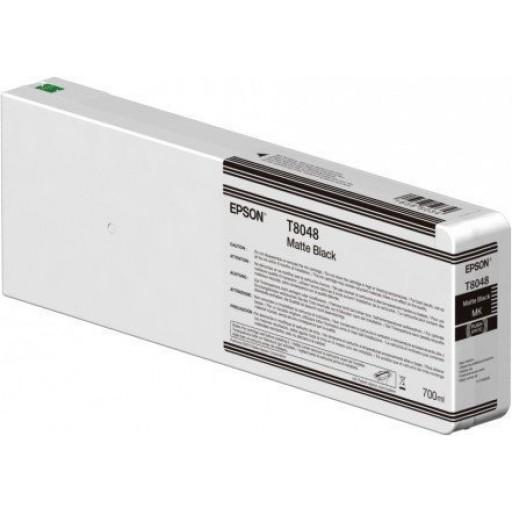 Epson C13T804800 Cartuccia d'inchiostro Nero (opaco) 700ml Ultrachrome HD, UltraChrome HDX